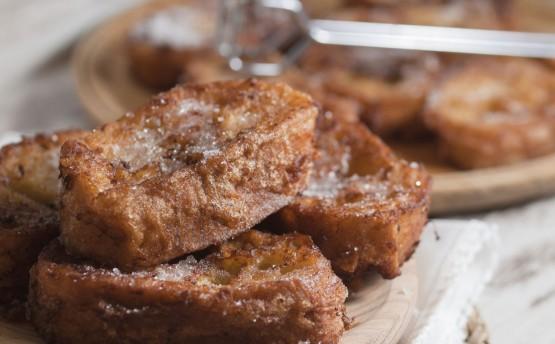 Rabanada Caseira com Pão Baguete