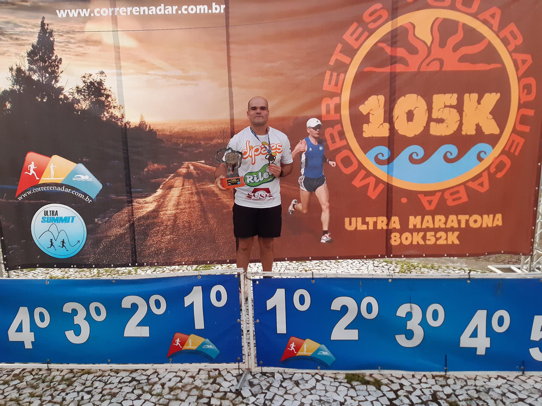 Atleta patrocinado pela Dipães conquista o 4º lugar na Ultramaratona Warrior 105K