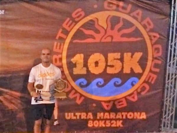 Atleta patrocinado pela Dipães conquista Ultramaratona no Paraná
