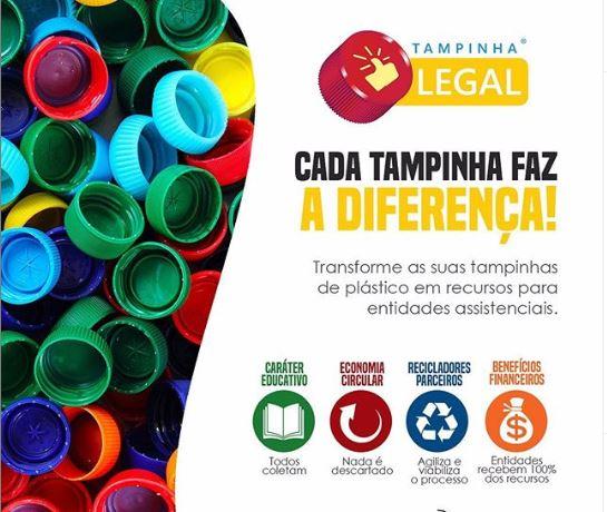 Dipães firma parceria com a Casa da Amizade de SMO no Projeto Tampinha Legal
