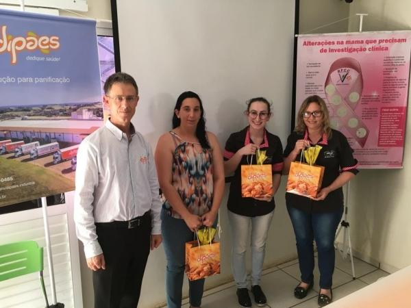 Dipães lança Campanha: Dipães e Você Contra o Câncer de Mama