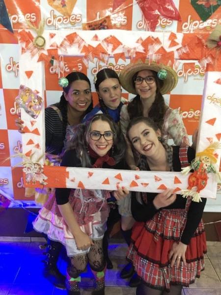 Dipães Promove Festas Julinas para Colaboradores e Familiares da Matriz e Filial