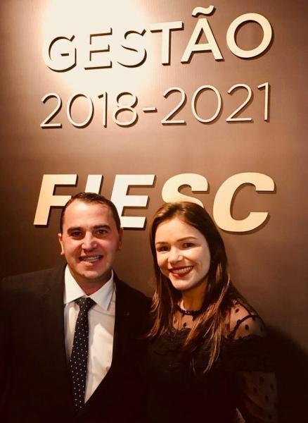 Diretor da Dipães é novamente empossado na Gestão 2018-2021 da FIESC