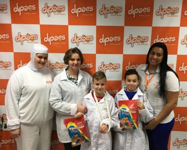 Filhos de Colaboradoras realizam visita técnica à Dipães