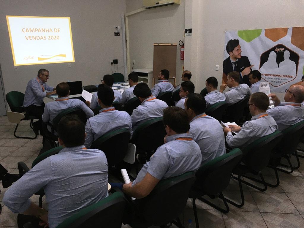 Equipes de Vendas da Dipães Matriz se reúnem para alinhamentos de 2020