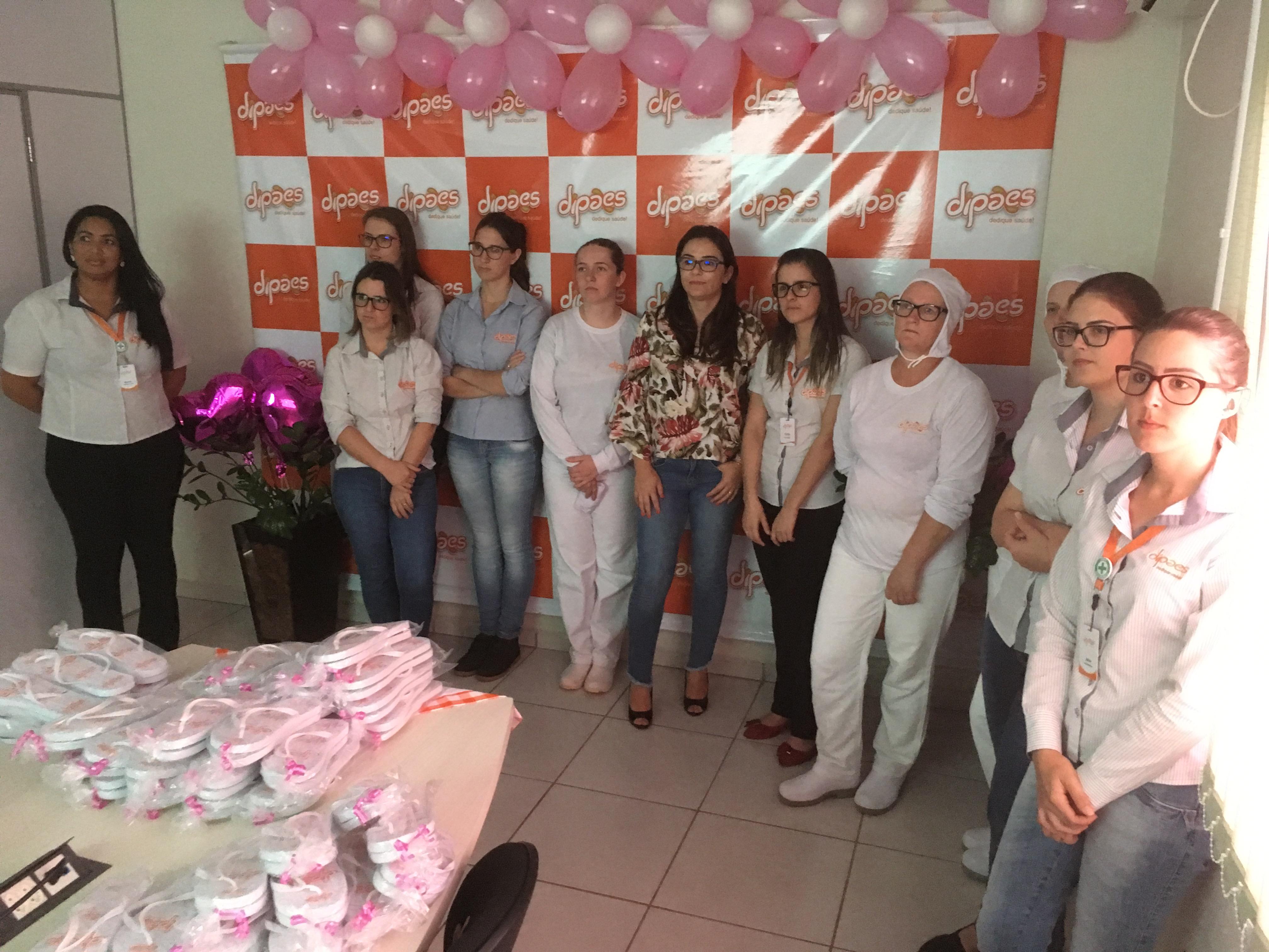 Dipães homenageia colaboradoras pelo Dia Internacional da Mulher