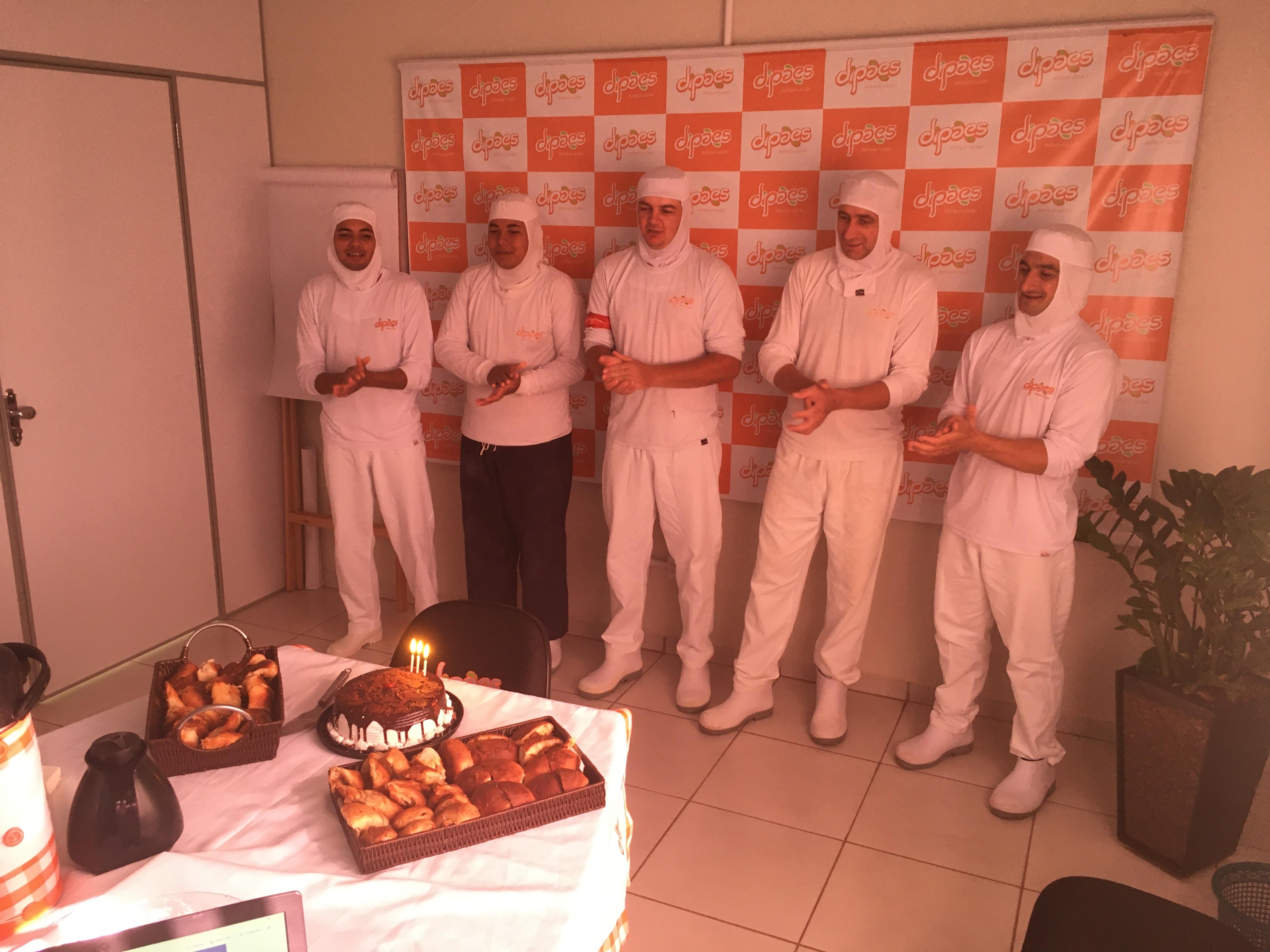 Dipães celebra os aniversários dos colaboradores da Matriz