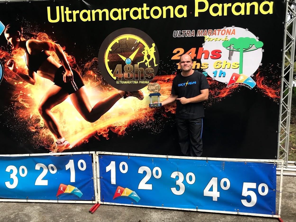 Ultramaratonista patrocinado pela Dipães conquista o vice-campeonato em prova de 48 horas