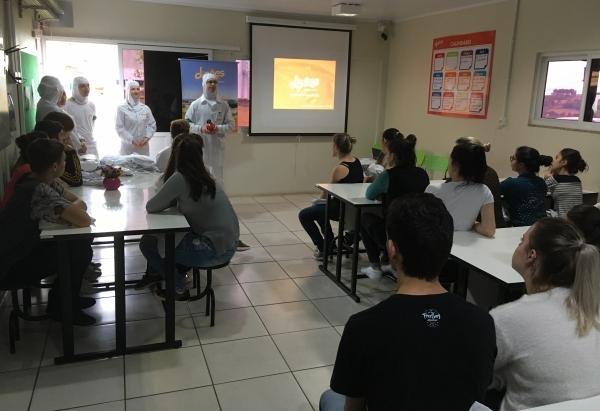 Turmas do Instituto Federal de Santa Catarina realizam visita técnica à Dipães