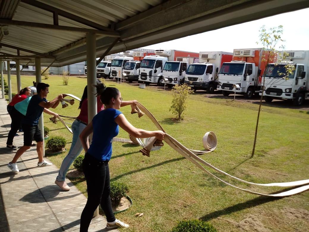 Colaboradores da Dipães são qualificados na prevenção e atuação em situações de emergência