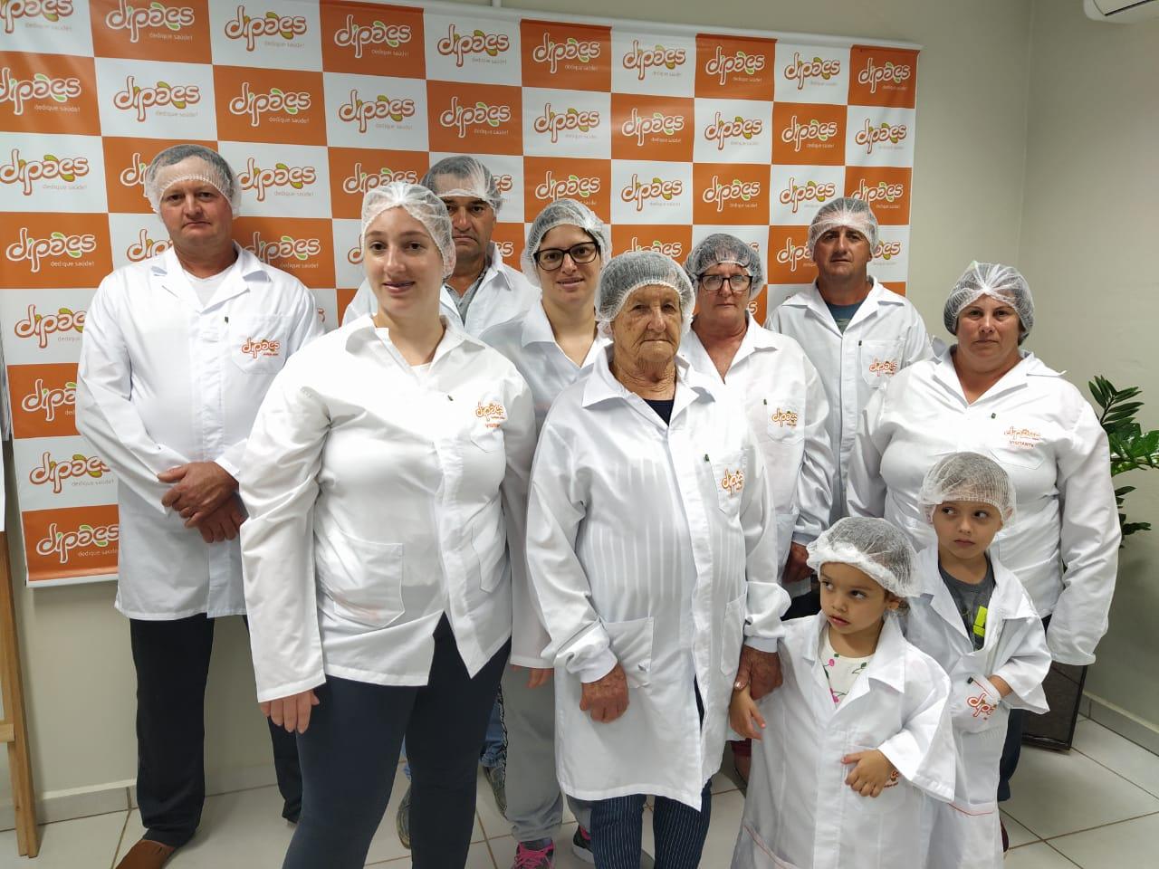 Familiares de Colaboradores da Dipães Matriz realizam visita à Indústria